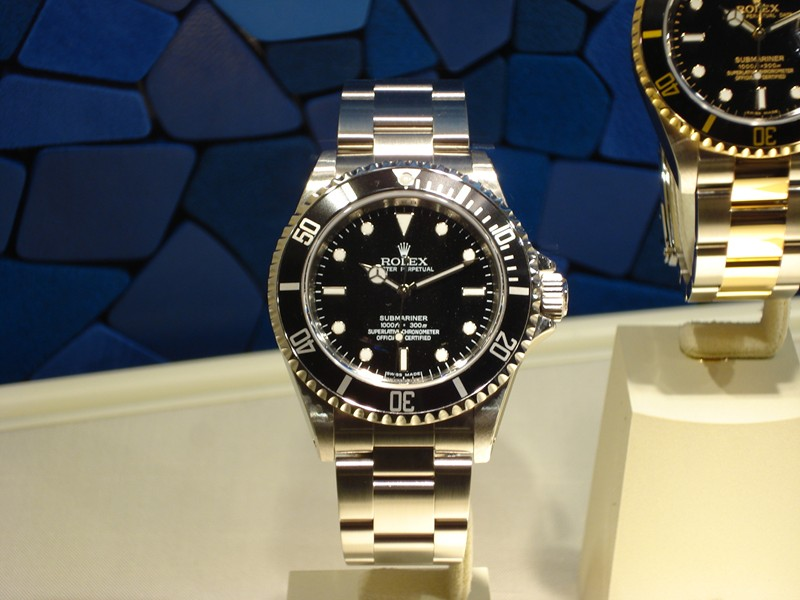 Rolex Submariner Ohne Lupe